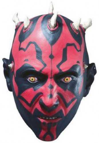 Máscara de 3/4 de Darth Maul™ de Star Wars™ para adulto