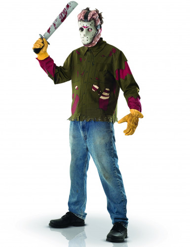 Disfraz de Jason de Viernes 13™ para hombre
