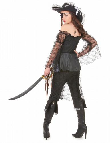 Disfraz de capitana buscatesoros para mujer-2