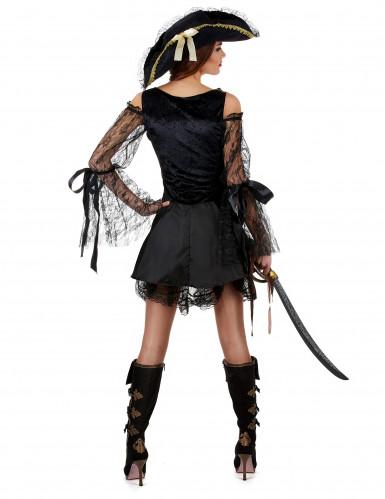Disfraz de pirata de lujo mujer-1