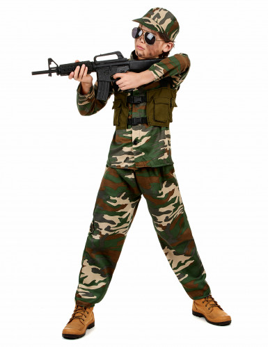 Disfraz de soldado para niño-1