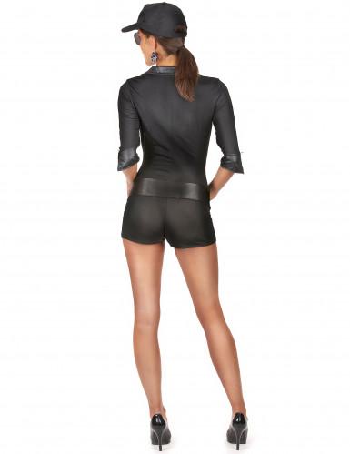 Disfraz de agente del FBI para mujer-2