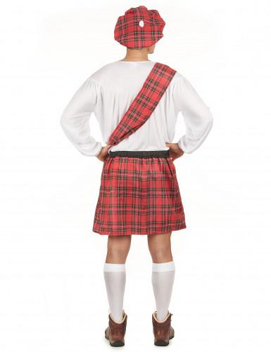 Disfraz de escocés gorro para hombre-2
