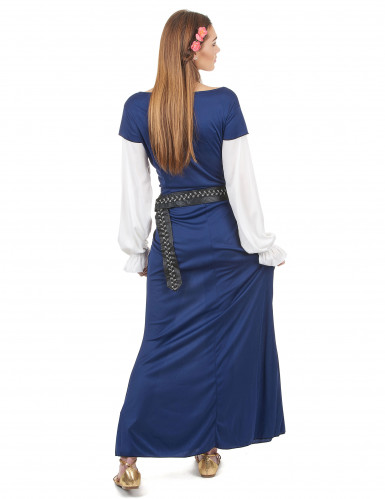 Disfraz de bávara azul para mujer-2