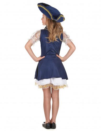 Disfraz de pirata para niña azul-2