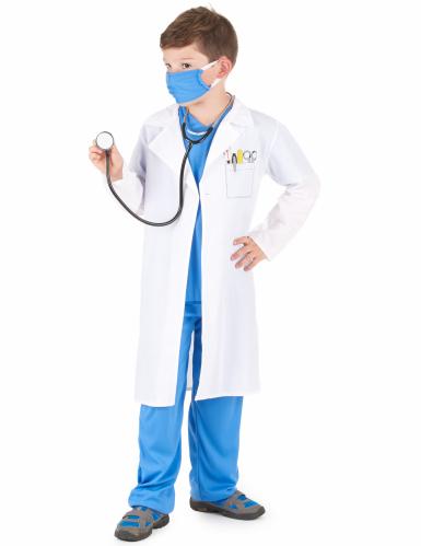 Disfraz de médico para niño-1