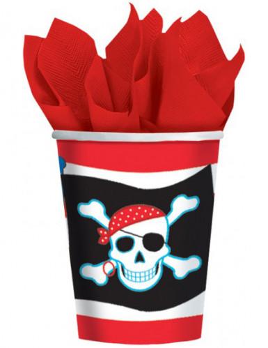 Vasos estilo pirata