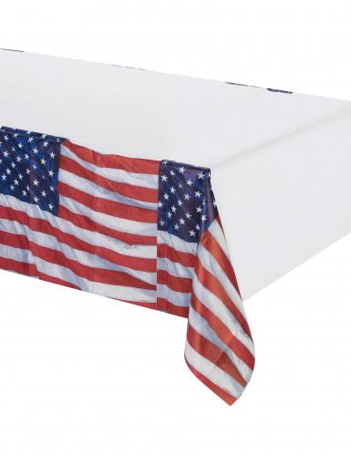 Mantel con la bandera de EE.UU.