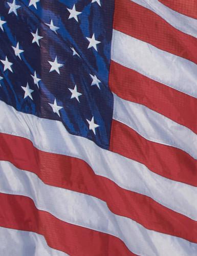 Mantel con la bandera de EE.UU.-1