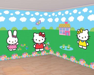 Rollos de papel de pared de Hello Kitty™