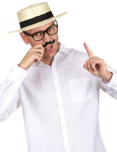 Sombrero de paja Lou Bandy para adulto