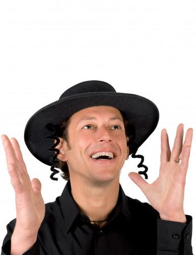 Sombrero de rabino negro