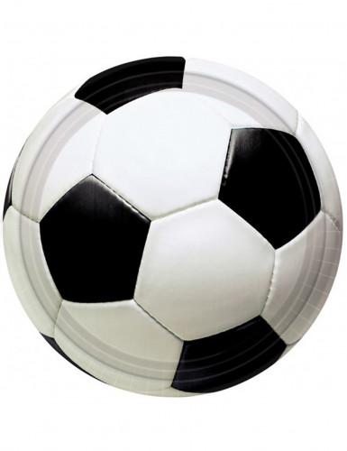 Vasos estilo balón de fútbol