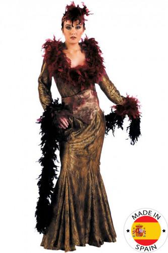 Disfraz de mujer con glamour