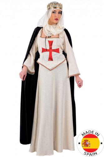 Disfraz de damisela del templo de lujo para mujer
