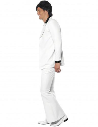 Disfraz estilo disco blanco para hombre-1