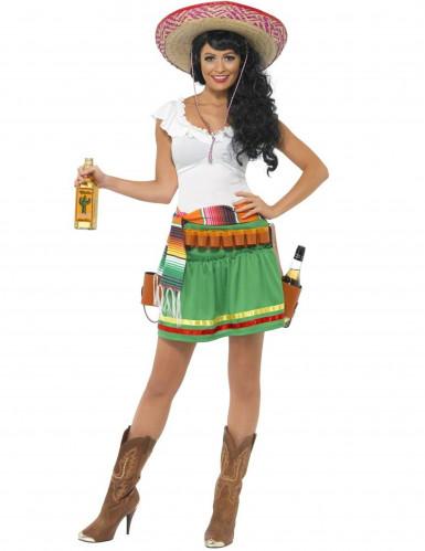 Disfraz de camarera mejicana