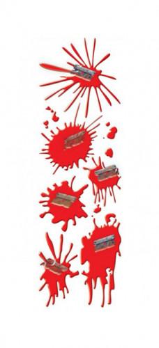 Pegatinas de manchas de sangre
