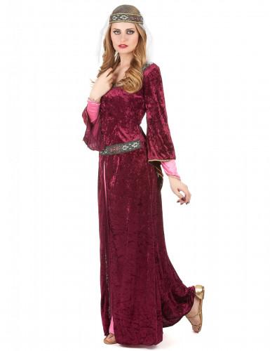 Disfraz de pareja de rey y reina medievales-1