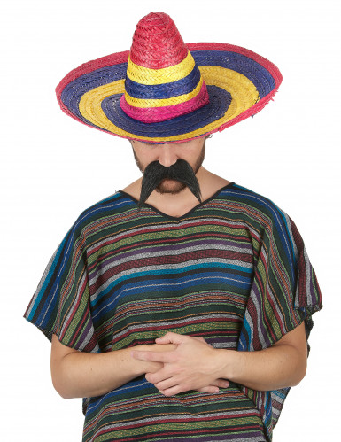 Sombrero multicolor para adulto-1