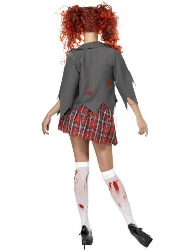 Disfraz de colegiala zombie ideal para Halloween-1