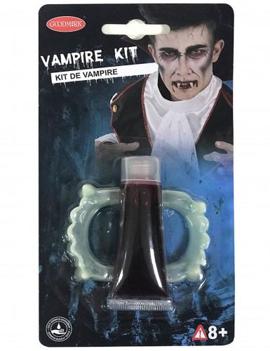 Kit de vampiro para Halloween