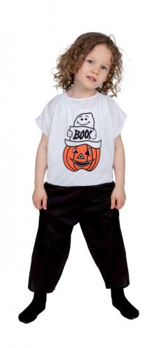 Disfraz infantil de fantasma y calabaza ideal para Halloween