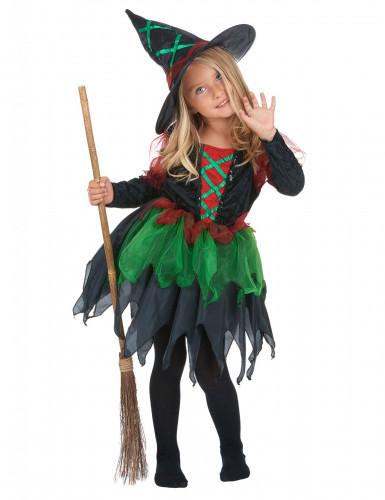 Disfraz de bruja del bosque para niña Halloween