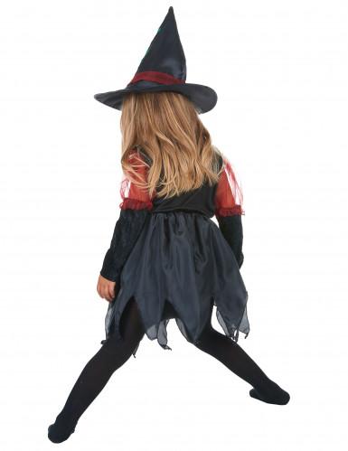 Disfraz de bruja del bosque para niña Halloween-2
