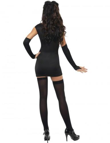 Disfraz de esqueleto sexy para mujer ideal para Halloween-1