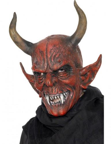 Mascara De Demonio Para Adulto Ideal Para Halloween Mascaras Y