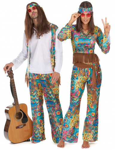Disfraces de hippies baba-cool