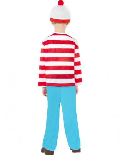 Disfraz de ¿Dónde está Wally?™ para niño-1