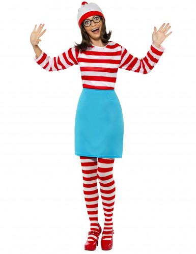 Disfraz ¿Donde está Wally?™ mujer