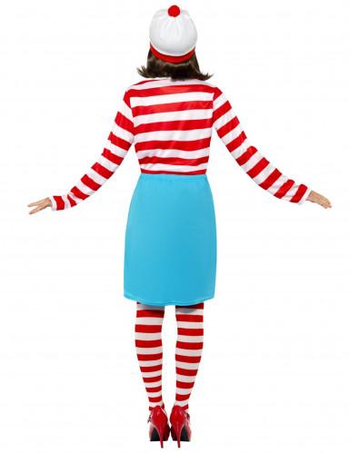 Disfraz ¿Donde está Wally?™ mujer-1