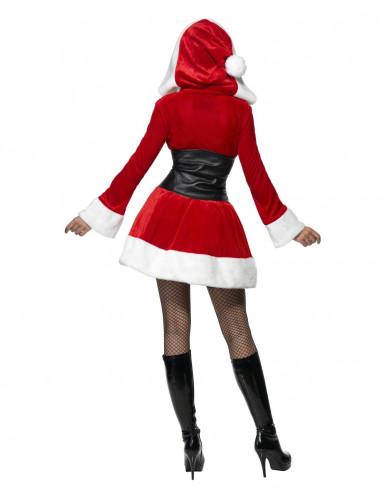 Disfraz de Mamá Noel corsé para mujer-1