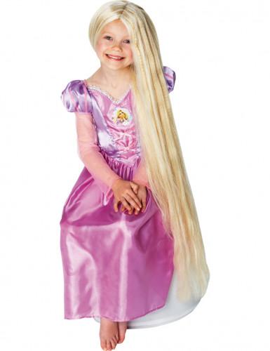Peluca fosforescente de la princesa Rapunzel para niña