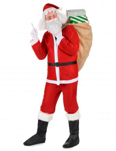 Disfraz de Papá Noel para adulto-1