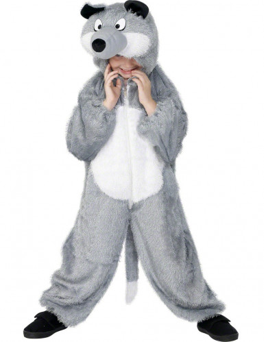 Disfraz de lobo para niño