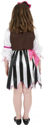 Disfraz de pirata rosa para niña-2