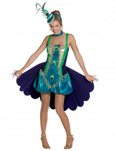 Disfraz pavo real para mujer-2