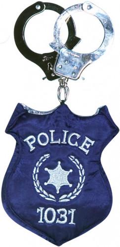 Bolso insignia de policía