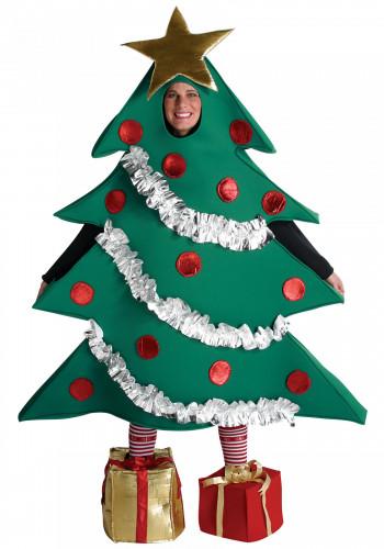 Disfraz árbol de navidad para adulto