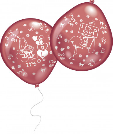 Globos It´s a girl