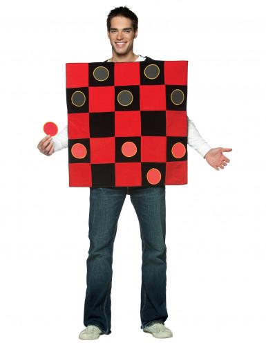 Disfraz juego de damas para hombre