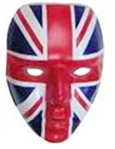 Máscara de Inglaterra adulto
