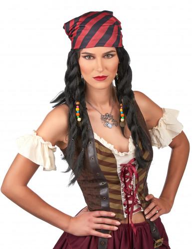 Peluca pirata adulto-1