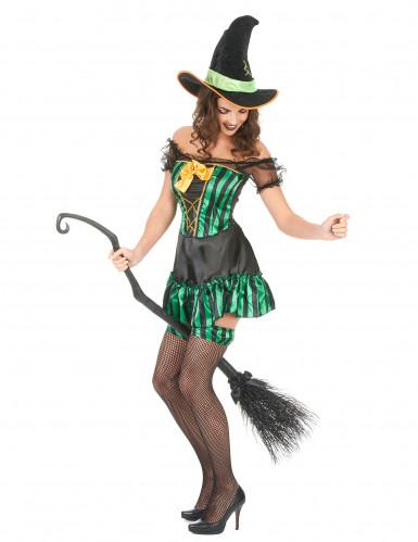 Disfraz de bruja para mujer Halloween-1