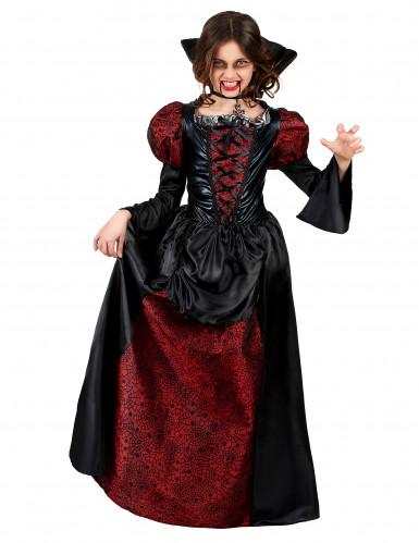 Disfraz de vampiro niña Halloween