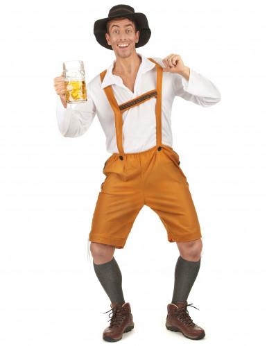 Disfraz de bávaro beerman hombre